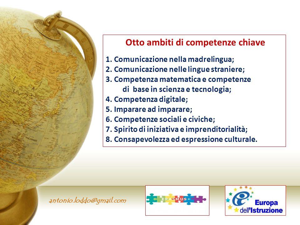Otto ambiti di competenze chiave