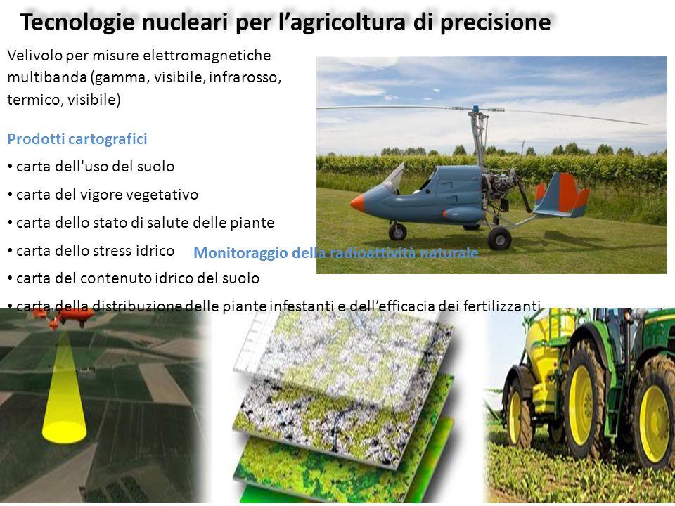 Tecnologie nucleari per l'agricoltura di precisione