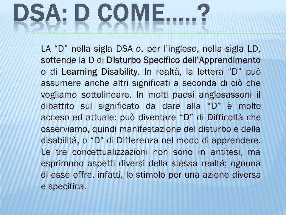 DSA: D COME…..