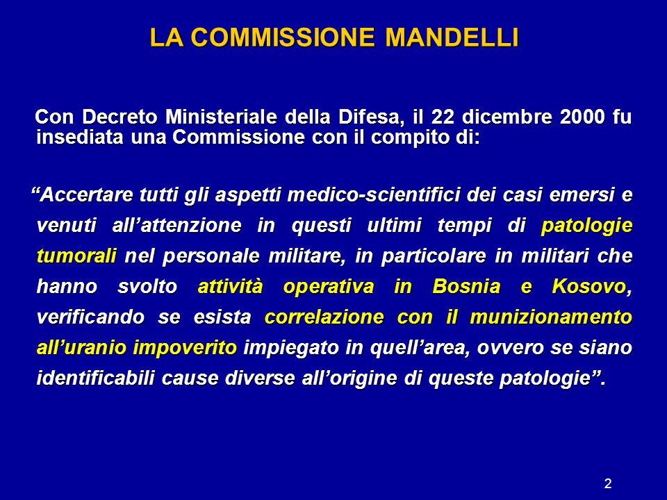 LA COMMISSIONE MANDELLI