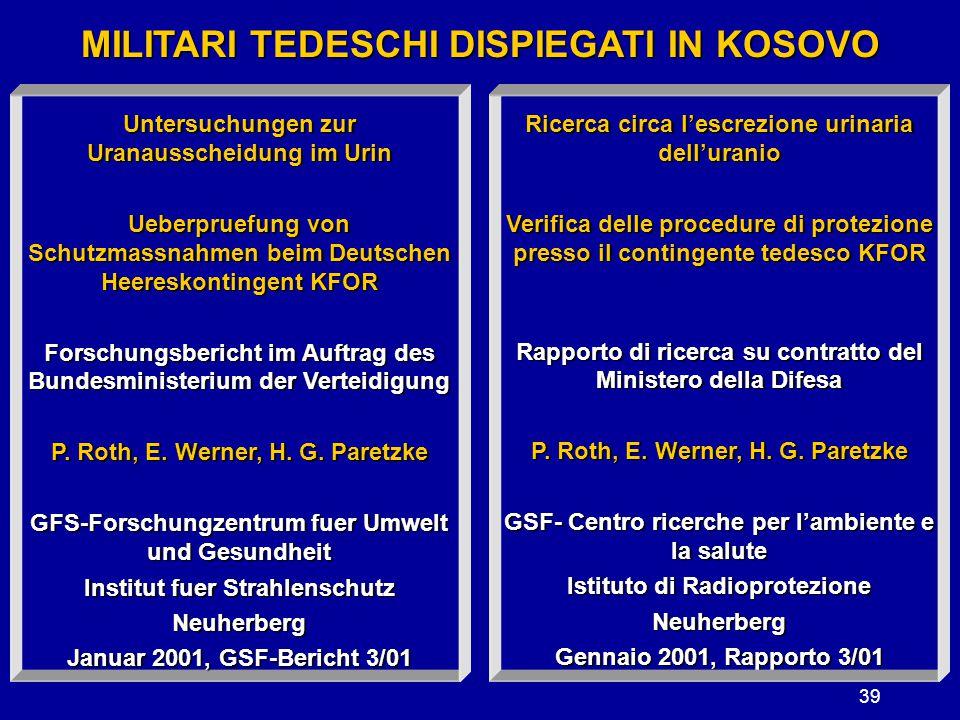 MILITARI TEDESCHI DISPIEGATI IN KOSOVO