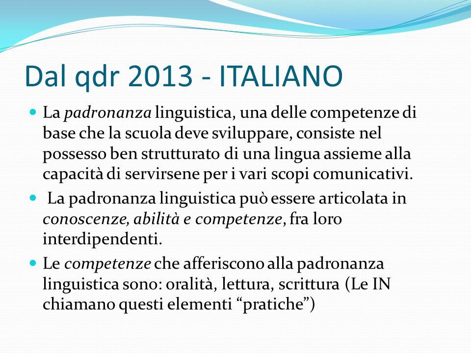 Dal qdr 2013 - ITALIANO