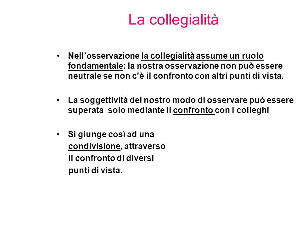 La collegialità