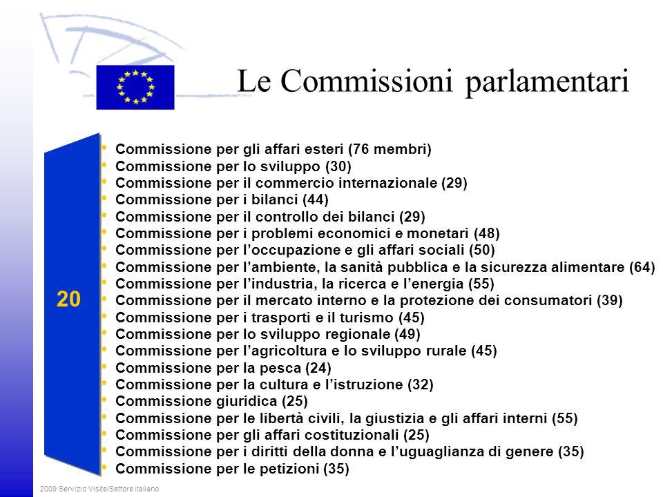 Le Commissioni parlamentari