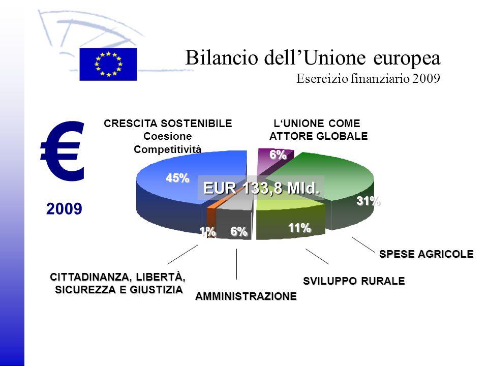 Bilancio dell'Unione europea Esercizio finanziario 2009
