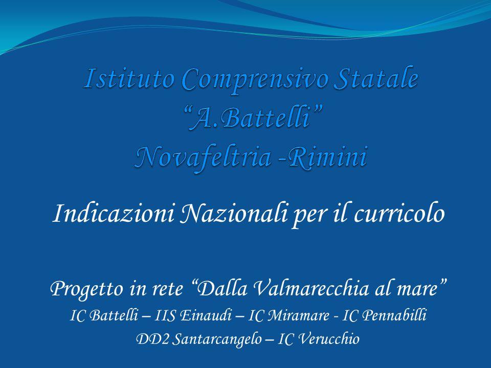 Istituto Comprensivo Statale A.Battelli Novafeltria -Rimini