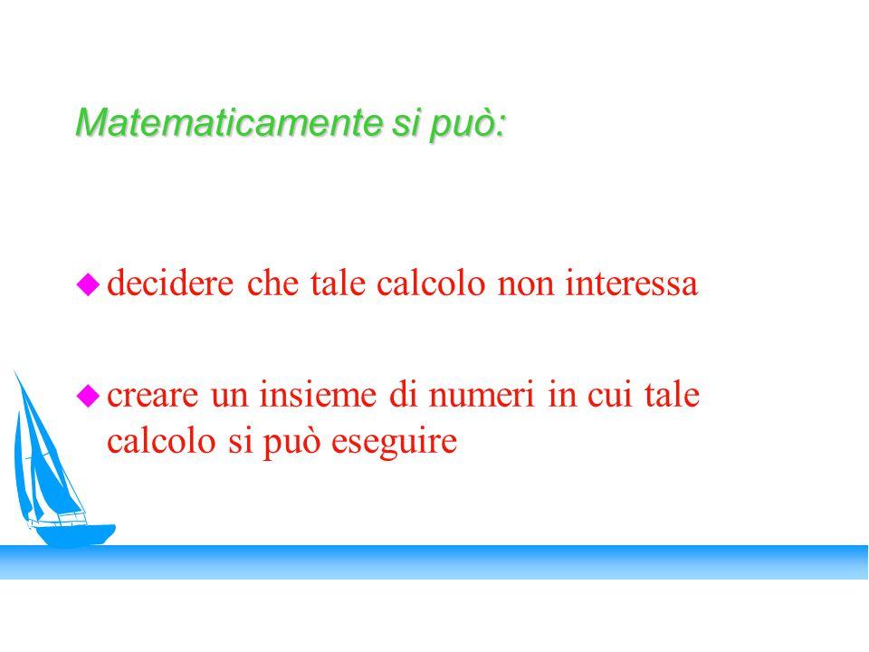 Matematicamente si può:
