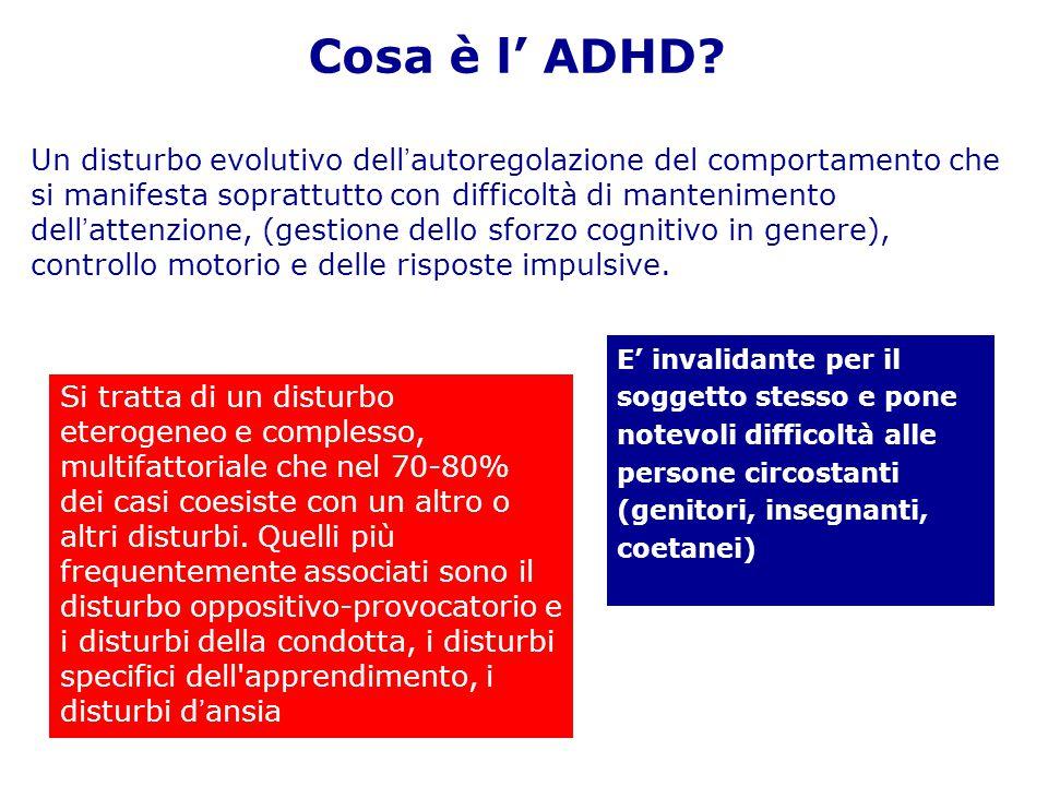 Cosa è l' ADHD