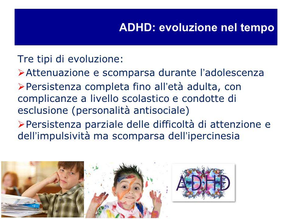 ADHD: evoluzione nel tempo
