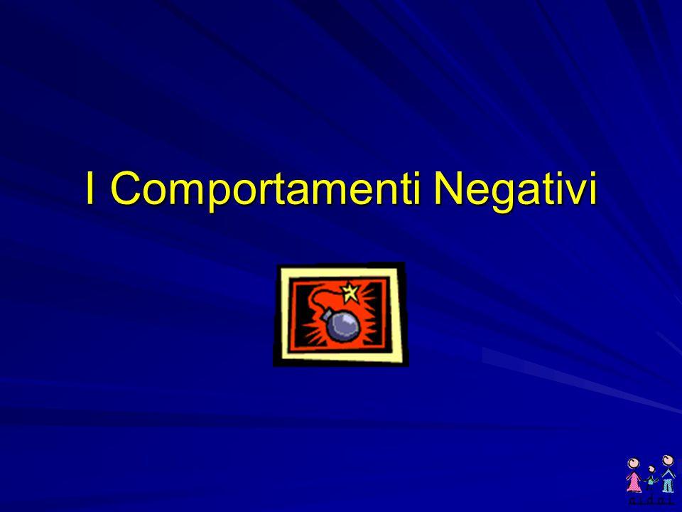 I Comportamenti Negativi