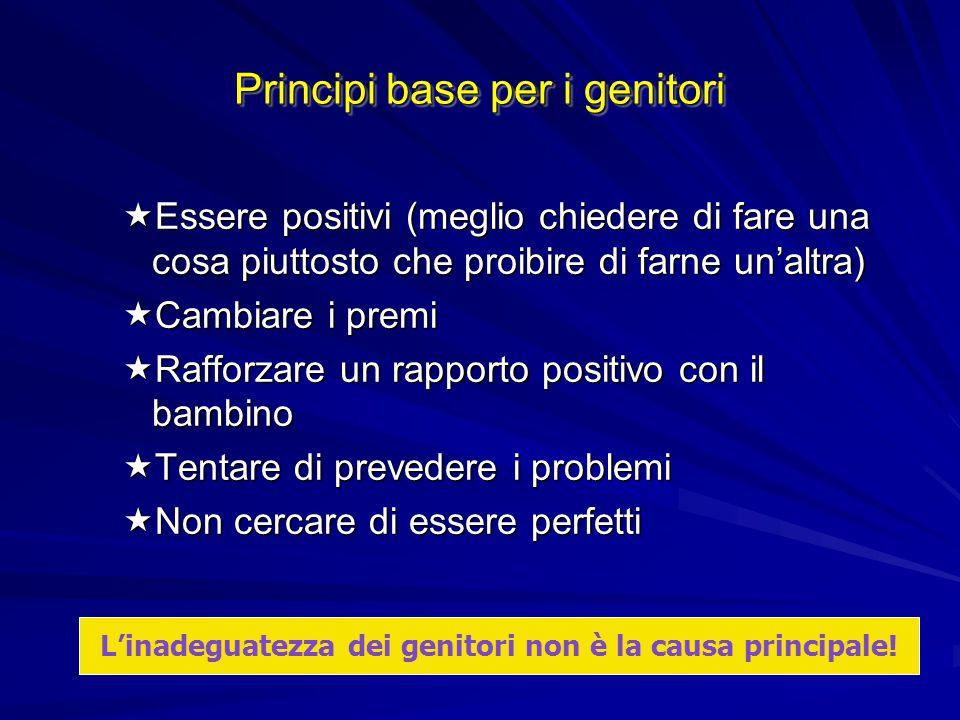 Principi base per i genitori