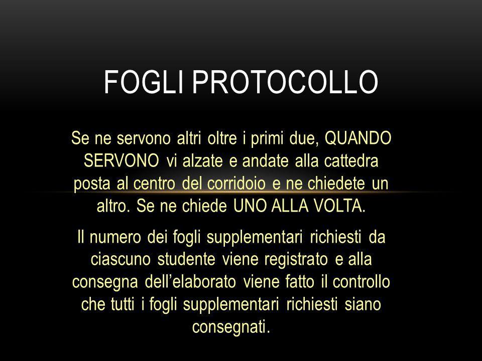 Fogli protocollo