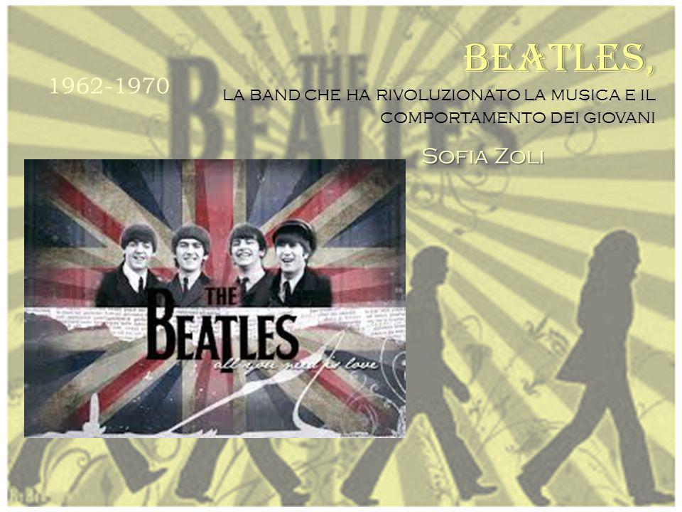 BEATLES, la band che ha rivoluzionato la musica e il comportamento dei giovani