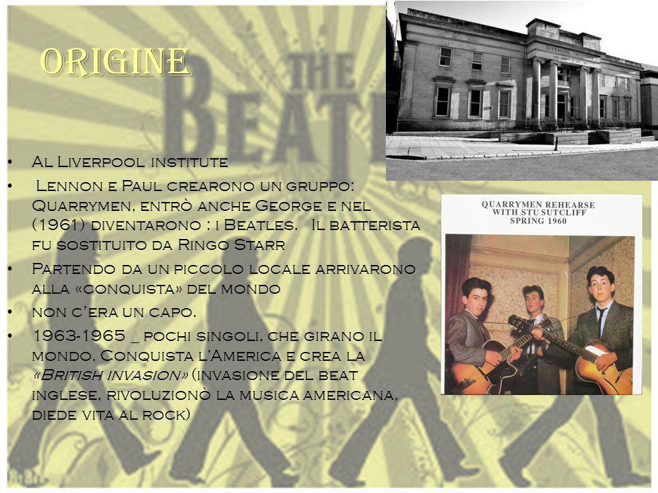 ORIGINE Al Liverpool institute