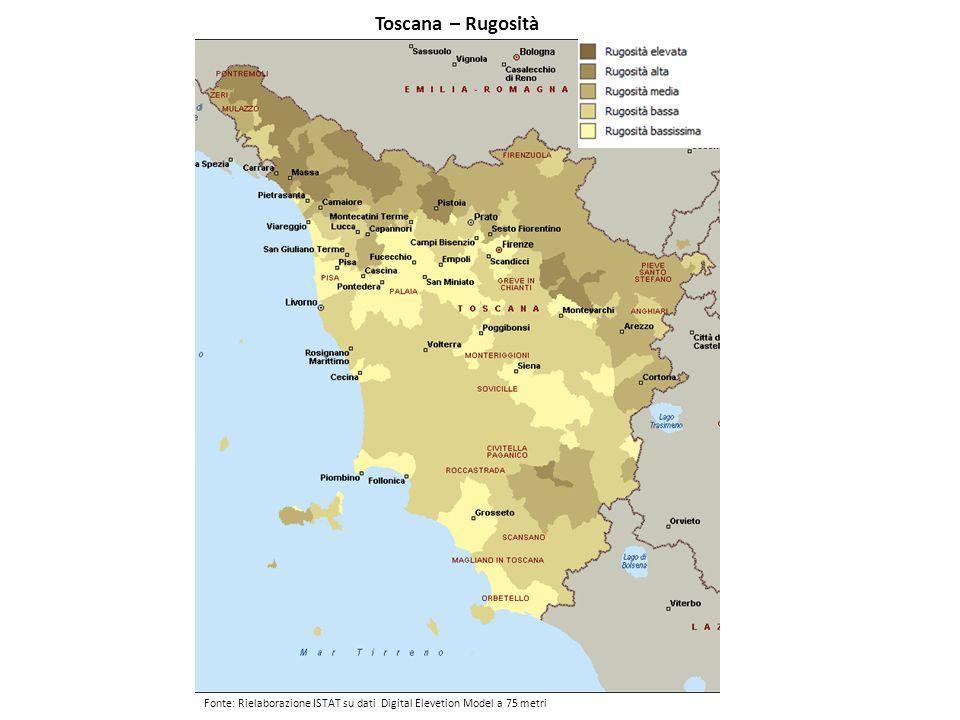 Toscana – Rugosità