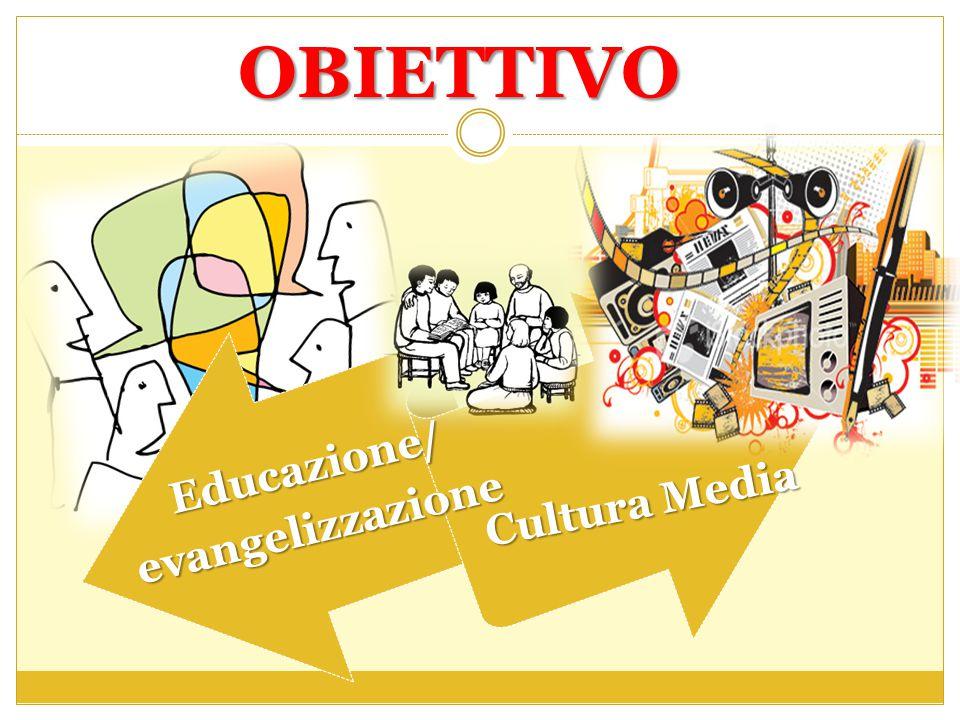 OBIETTIVO Educazione/ evangelizzazione Cultura Media