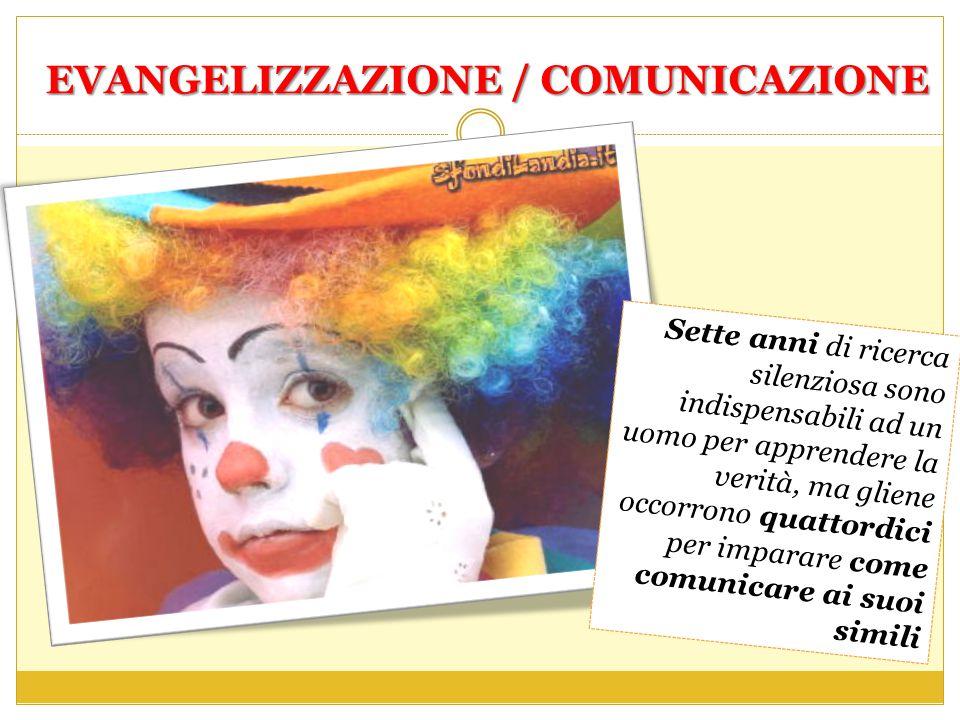 EVANGELIZZAZIONE / COMUNICAZIONE