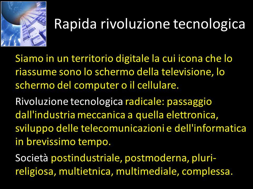 Rapida rivoluzione tecnologica