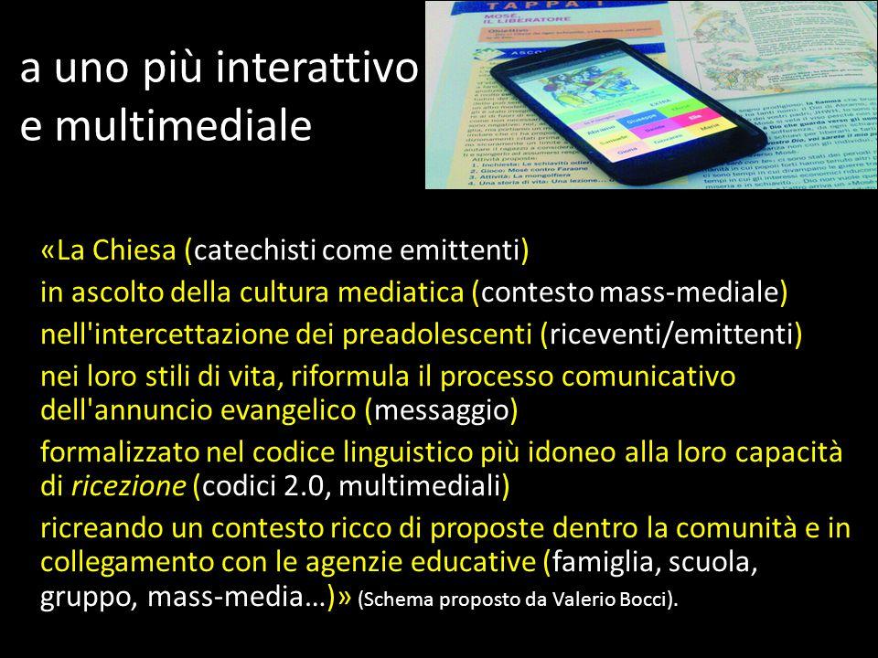 a uno più interattivo e multimediale