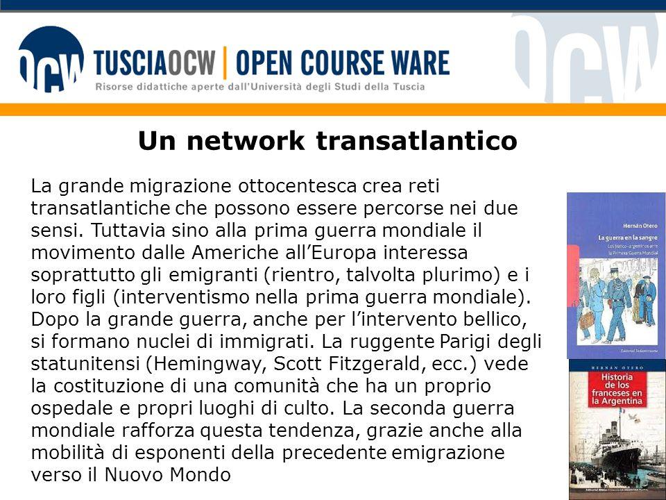 Un network transatlantico