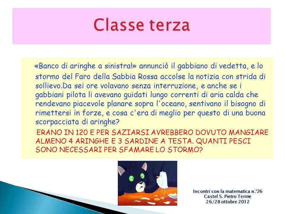 Incontri con la matematica n.°26 Castel S. Pietro Terme