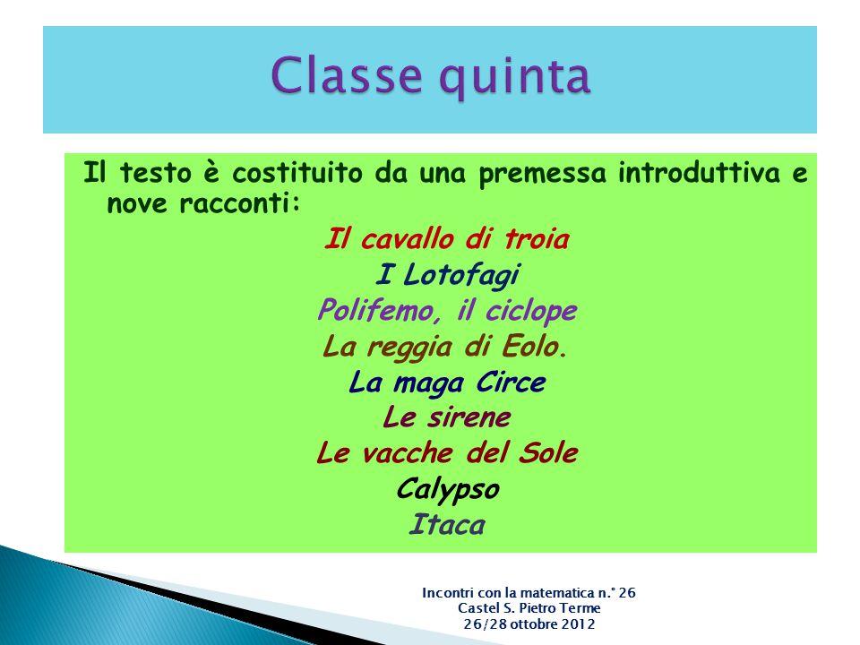 Incontri con la matematica n.° 26 Castel S. Pietro Terme