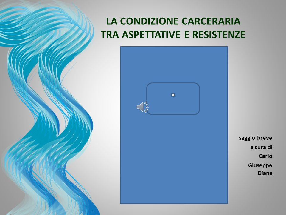 LA CONDIZIONE CARCERARIA TRA ASPETTATIVE E RESISTENZE 3 3