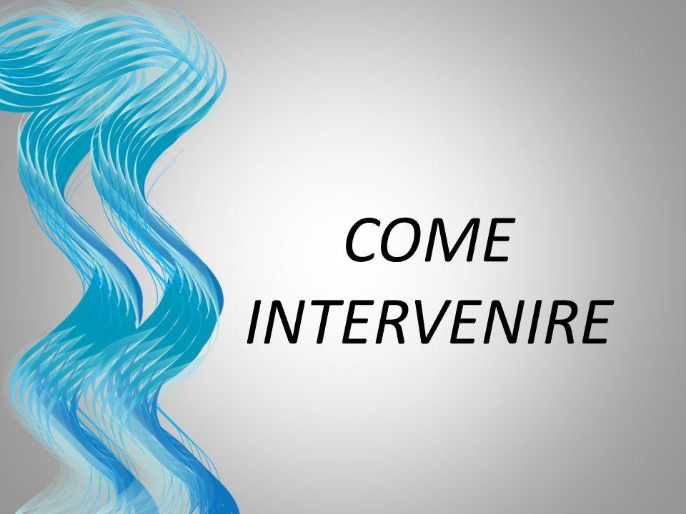 COME INTERVENIRE Questa è un altra opzione per creare diapositive introduttive che utilizzano transizioni.