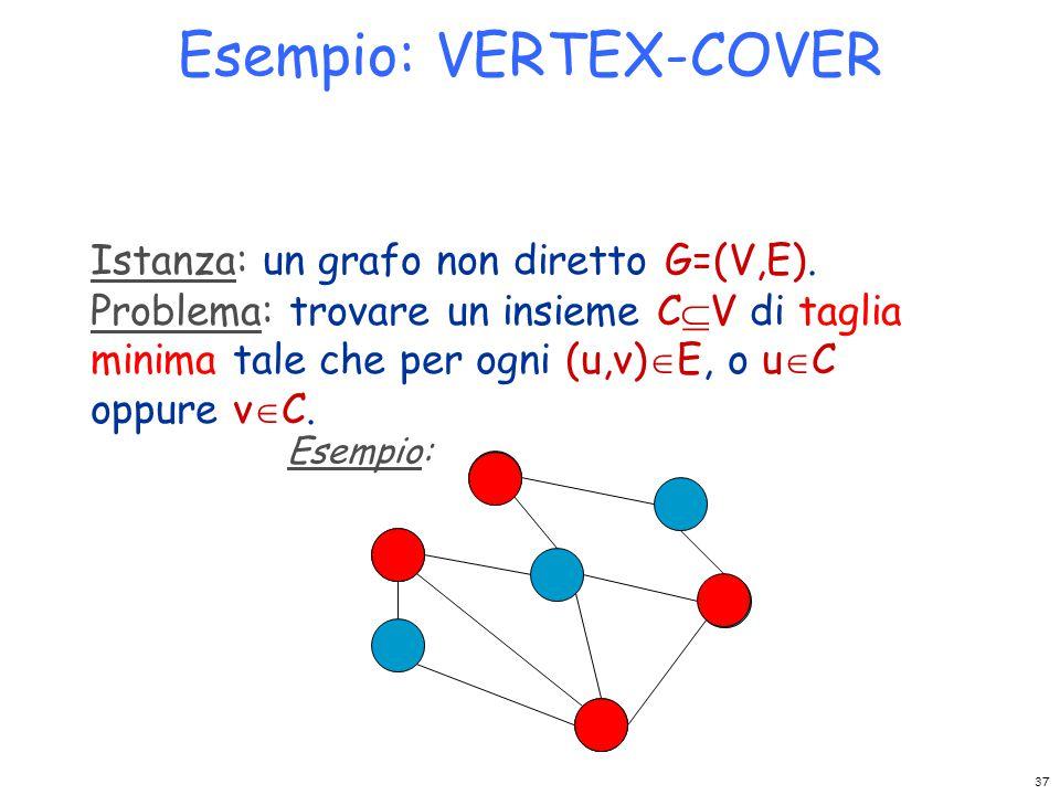 Esempio: VERTEX-COVER