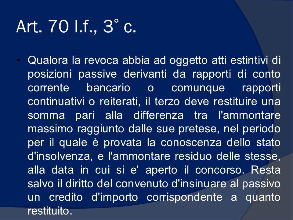 Art. 70 l.f., 3° c.