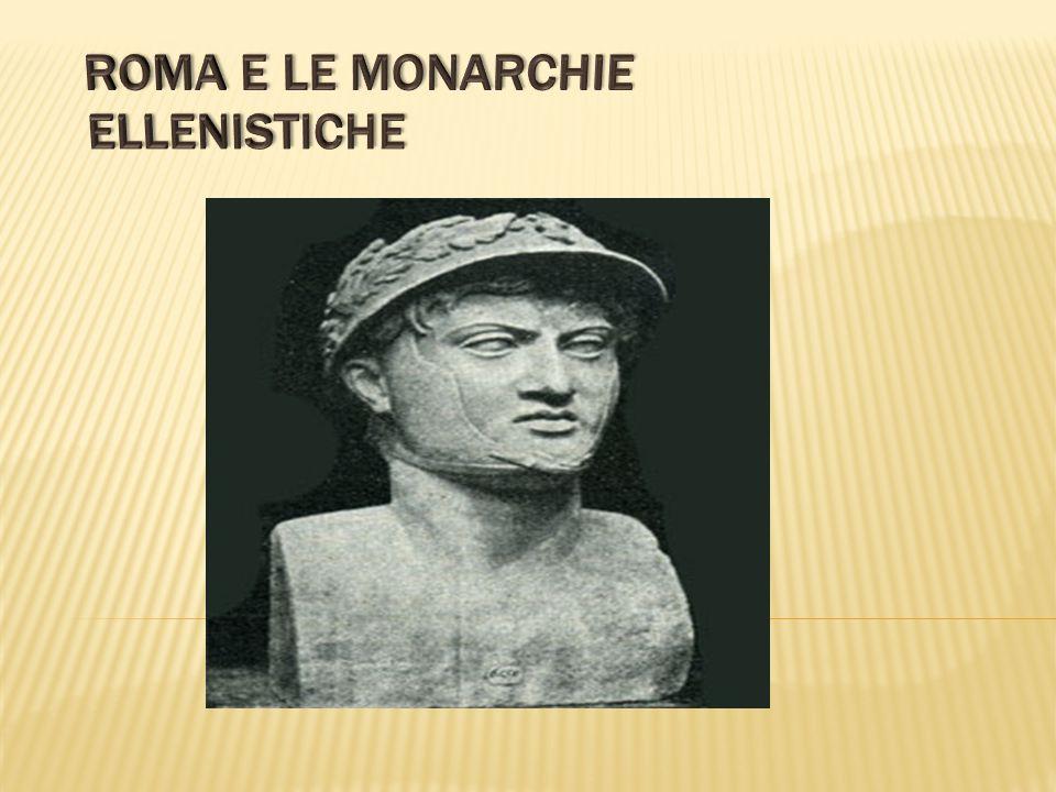 Roma e le monarchie ellenistiche