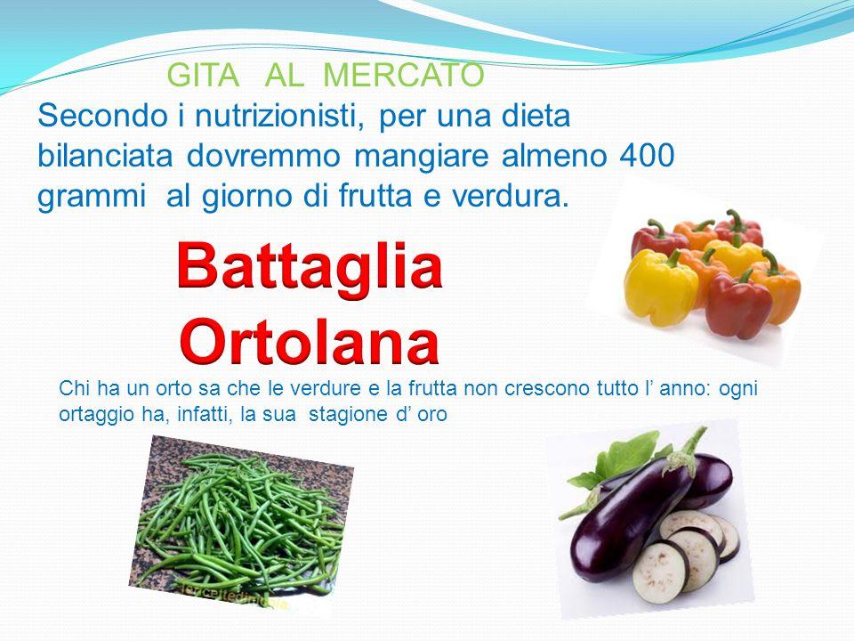 Battaglia Ortolana GITA AL MERCATO