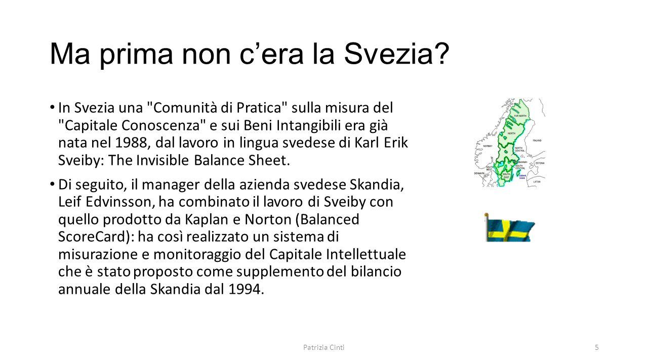 Ma prima non c'era la Svezia