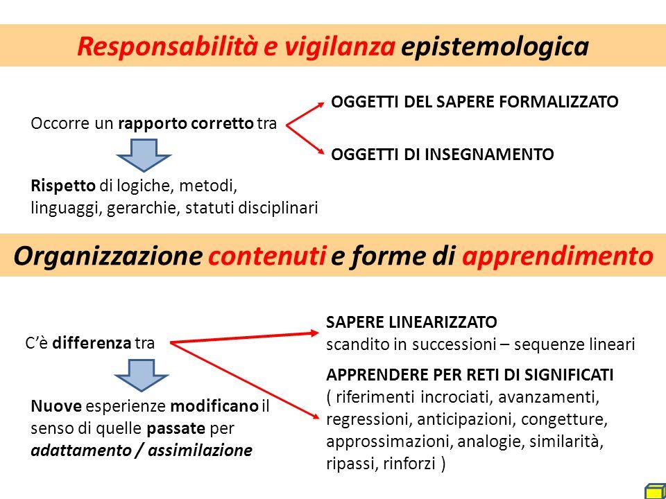 Responsabilità e vigilanza epistemologica