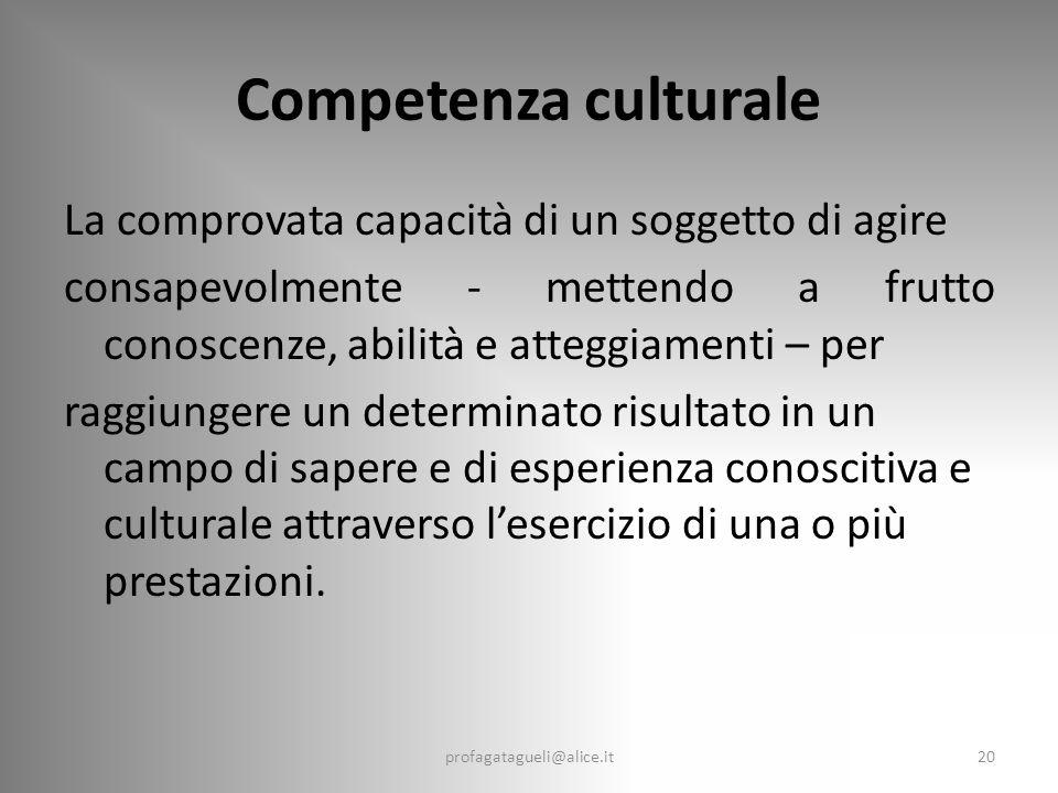 Competenza culturale