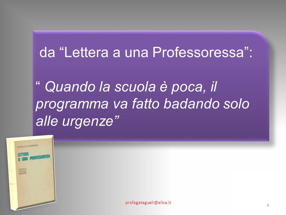 da Lettera a una Professoressa :
