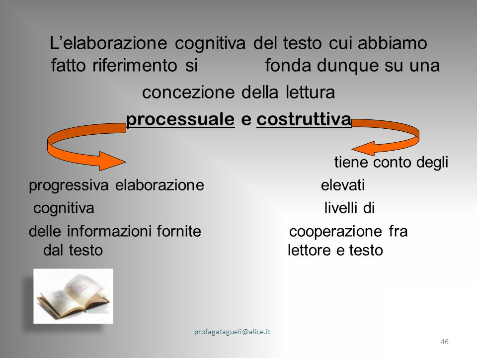 concezione della lettura processuale e costruttiva
