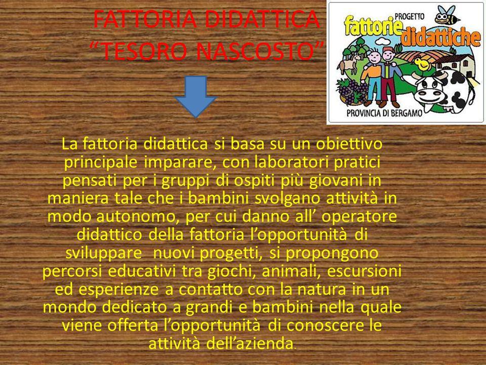 FATTORIA DIDATTICA TESORO NASCOSTO