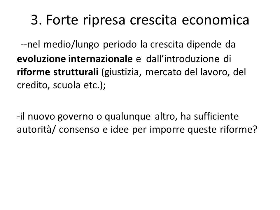 3. Forte ripresa crescita economica
