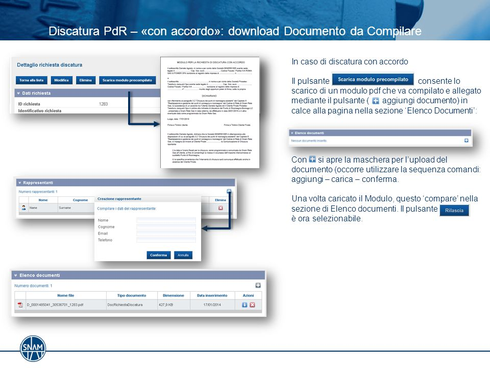Discatura PdR – «con accordo»: download Documento da Compilare