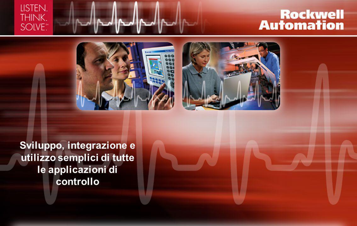 Sviluppo, integrazione e utilizzo semplici di tutte le applicazioni di controllo