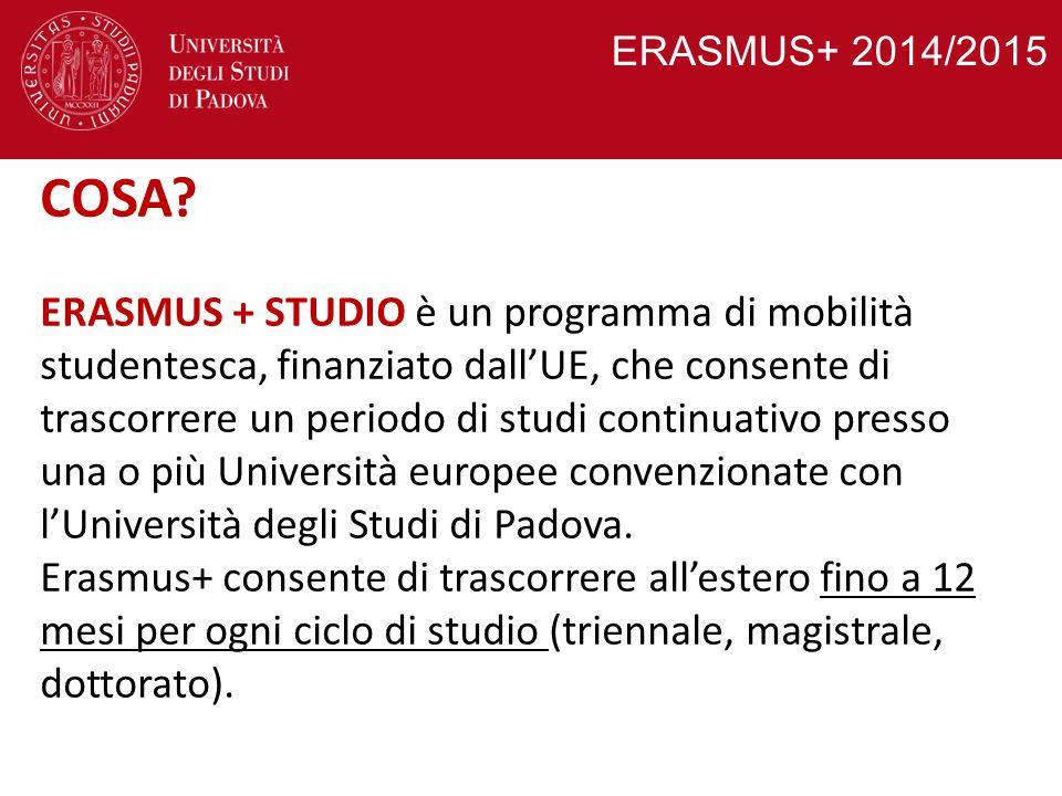 ERASMUS+ 2014/2015 COSA