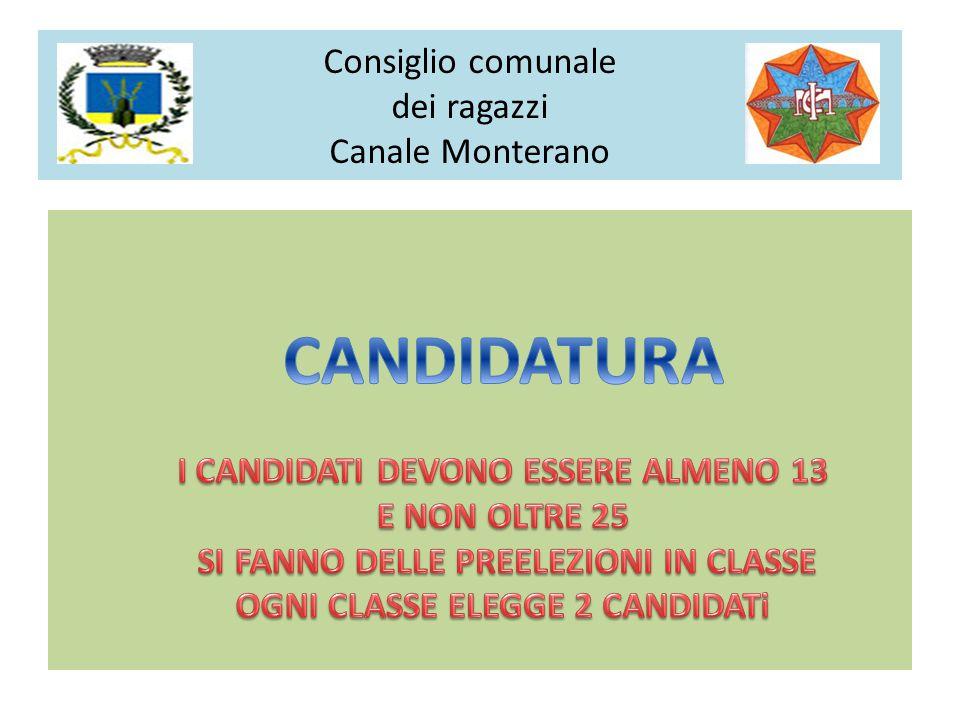 Consiglio comunale dei ragazzi Canale Monterano