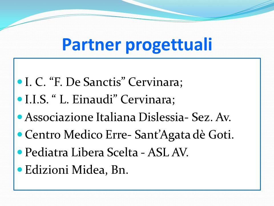 Partner progettuali I. C. F. De Sanctis Cervinara;