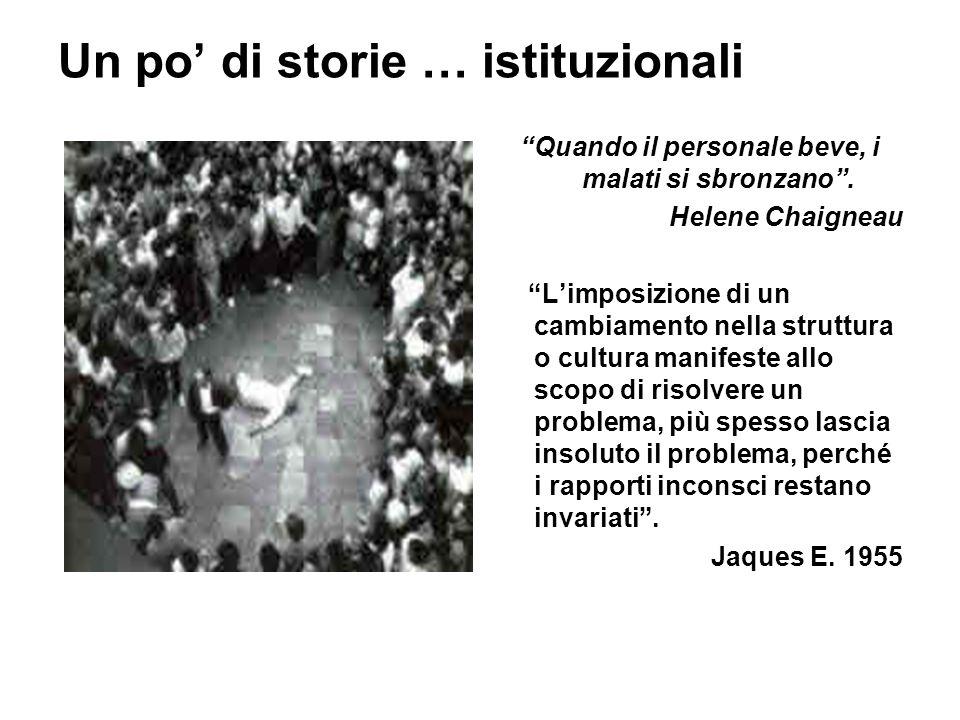 Un po' di storie … istituzionali