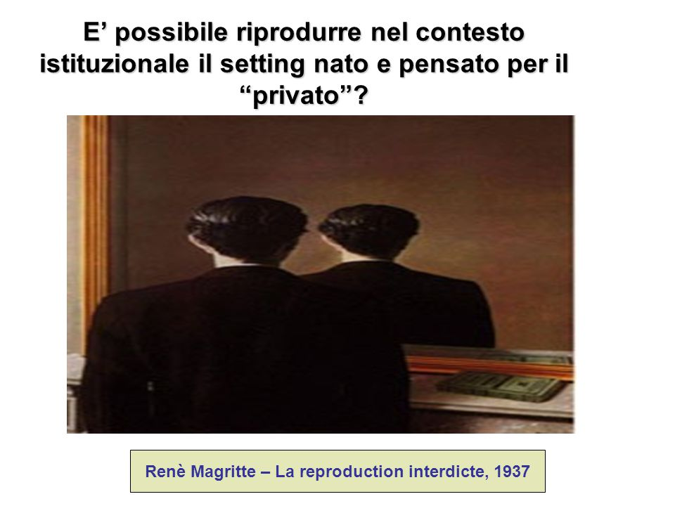 Renè Magritte – La reproduction interdicte, 1937