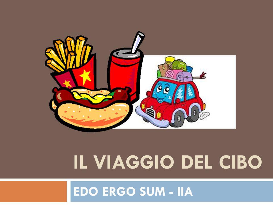 IL VIAGGIO DEL CIBO EDO ERGO SUM - IIA