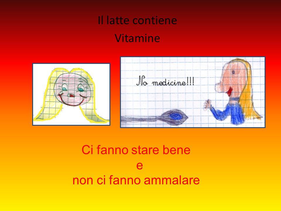 Il latte contiene Vitamine