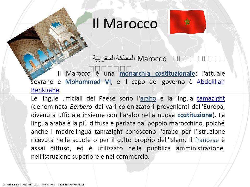 Il Marocco المملكة المغربية Marocco ⵜⴰⴳⵍⴷⵉⵜ ⵏ ⵍⵎⴰⵖⵔⵉⴱ