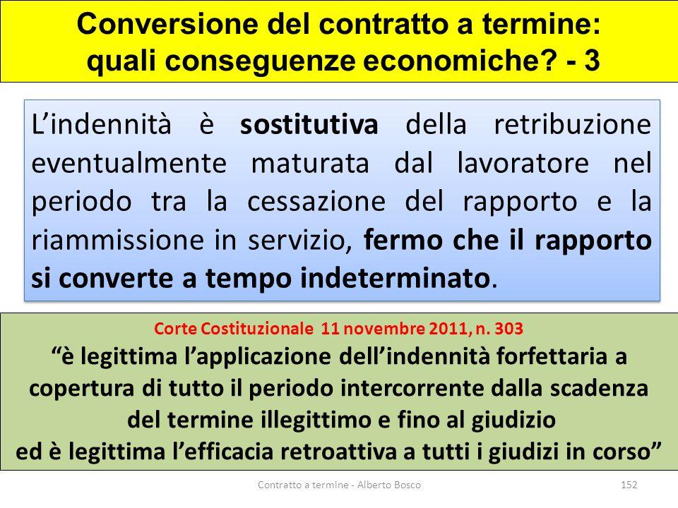 Conversione del contratto a termine: quali conseguenze economiche - 3
